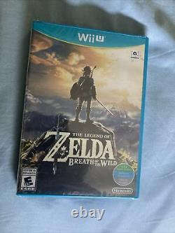 The Legend of Zelda Breath of the Wild Brand New World Edition Sealed