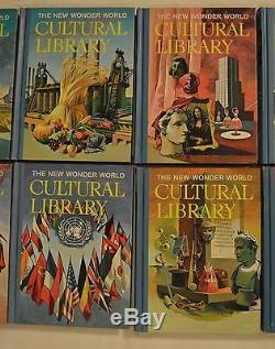 The New Wonder World CULTURAL LIBRARY /PARENT'S INSTITUTE-COMPLETE SET OF 10 VOL