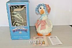 The Original Vintage World's Of Wonder Talking Mother Goose New in Box