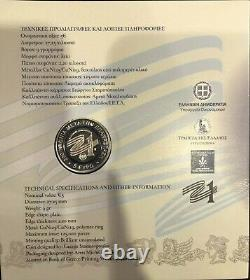 The Phoenix of 1828 Bimetallic Coin Greece 1821-2021 New Collectible Super RARE
