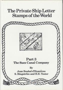 The Private Ship Letter Stamps of the World, complete set of 4 volumes, NEW