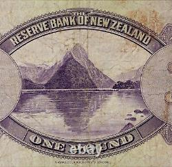 The Reserve Bank of New Zealand 1934 One 1 Pound Note RARE