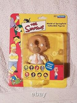 The Simpsons Donut Head Homer UK/EU Exclusive World of Springfield Playmates New