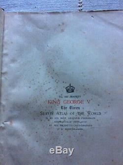 The Times Survey Atlas of the World A Comprehensive Series of New and Authentic
