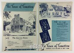 The Town Of Tomorrow Set Of 15 House Design Brochures New York Worlds Fair 1940