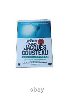 The Undersea World Of Jacques Cousteau Deluxe Edition 22 Discs Dvd Box Set New