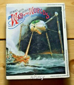The War of the Worlds Jeff Wayne's Musical MD Box Set 2x Minidisc NEW SEALED