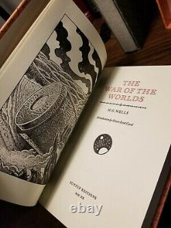 The War of the Worlds / The Invisible Man HG Wells Suntup Numbered Signed NEW
