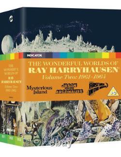 The Wonderful Worlds Of Ray Harryhausen Vol. 2 Blu-Ray Boxset New Sealed OOP