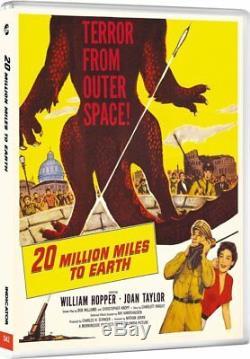 The Wonderful Worlds of Ray Harryhausen 1 & 2 1955 -1964 (Blu-ray) BRAND NEW