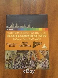 The Wonderful Worlds of Ray Harryhausen Volume Two (Blu-ray Region Free) NEW OOP