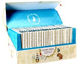 The World of Peter Rabbit Complete Tales of Beatrix Potter 23 Book Box BRAND NEW