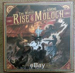 The World of SMOG Rise of Moloch Ambassador Pledge+Add-onsKickstarter NEW