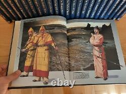 Time Life Books, History of the World, Full set of 25 books, Like New condition