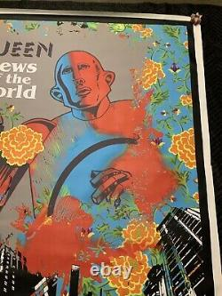 Urban Pop Art Queen News Of The World Original Print canvas Signed Miguel Parade
