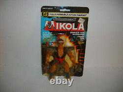 Vintage REMCO MIKOLA The Lost World Of The Warlord Figure New On Sealed Card