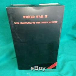 WORLD WAR II SS WAR CRIMINALS of the 20 TH CENTURY TOYS MODEL 1/6 LIKE NEW