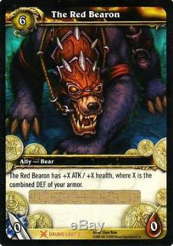 WOW The Red Bearon LOOT CARD UNSCRATCHED NEW WORLD OF WARCRAFT