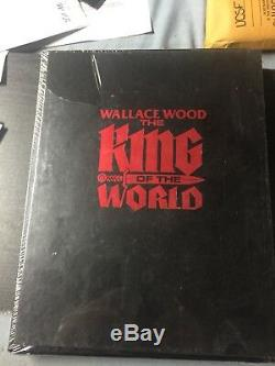 Wally Wood WIZARD KING TRILOGY BOOK 1 DLX HC KING OF THE WORLD (2004) New Signed