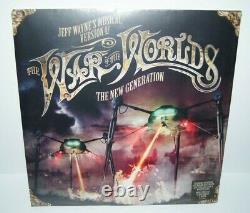 War of the Worlds The New Generation by Jeff Wayne Vinyl, Nov-2012, 2