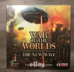 War of the Worlds The New Wave Kickstarter Base + Expansion Grey Fox Games