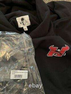 Warren Lotas Hellrazors Hoodie End Of The World Large New Authentic Guaranteed