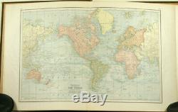Watson's New and Complete Illustrated Atlas of the World Indexed 1885