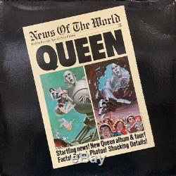 With Negotiation Queen / News Of The World Mega Rare Us Electra Promo Only Box