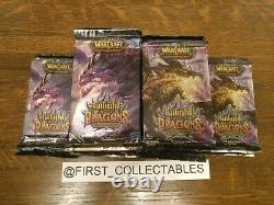 World Of Warcraft TCG Twilight of the Dragon Booster Pack x24 New