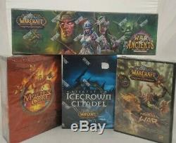World Of Warcraft Timewalkers War Of The Ancients Epic Collection Lot Sealed NEW