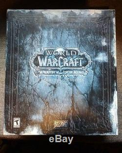 World Of Warcraft Wrath Of The Lich King (Collector's Edition) NEW SEALED MISB