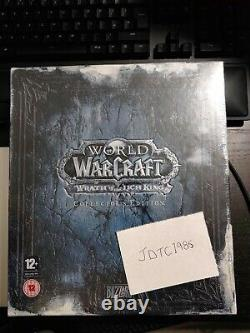 World Of Warcraft Wrath Of The Lich King Collectors Edition NEW & SEALED