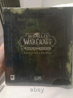 World Of Warcraft Wrath Of The Lich King & TBC Collectors Edition NEW