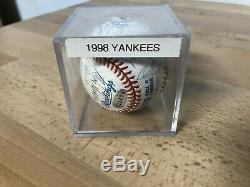 World Series Champions 1998 Ball Signed by 21 Members of the New York Yankees