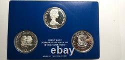 World War II Commemorative Proof Set of the South PacificPhilippines, Papua New