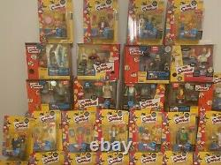 World of Springfield The Simpsons HUGE SET All NEW in BOX