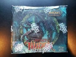 World of Warcraft TCG The Hunt for Illidan Booster Box New Sealed 24 Packs