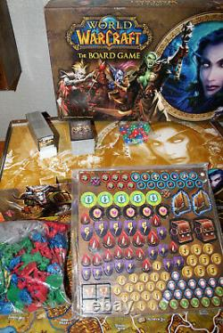 World of Warcraft The Board Game +Burning Crusade +Shadow of War Expansion NEW