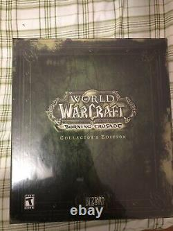 World of Warcraft The Burning Crusade Collector's Edition NEW, FACTORY SEALED
