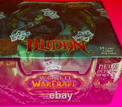 World of Warcraft The hunt for Illidan TCG Booster Box 24 COUNT NEW SEALED