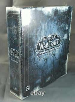 World of Warcraft Wrath Of The Lich King COLLECTOR WOLTK NEUF NEW SEALED PAL