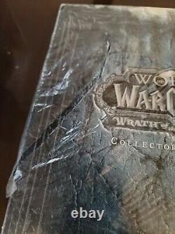 World of Warcraft Wrath of the Lich King Collector's Edition Brand New Sealed