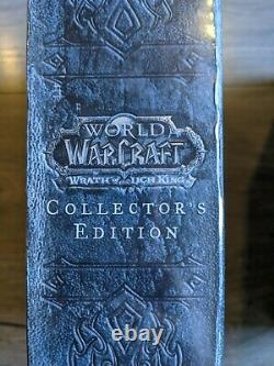 World of Warcraft Wrath of the Lich King Collector's Edition NEW WOW