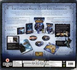 World of Warcraft Wrath of the Lich King Collectors Edition NEW and SEALED