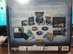 World of Warcraft Wrath of the Lich King Collectors Edition New Sealed
