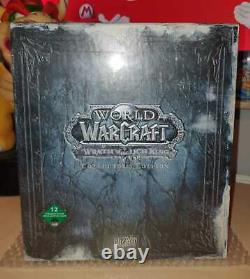 World of Warcraft Wrath of the Lich King Collectors Edition sealed NEW