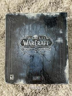 World of Warcraft collectors edition Wrath Of The Lich King Brand New Sealed