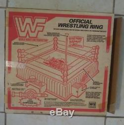 Wwf World Wrestling Federation King Of The Rings Ring New In Box