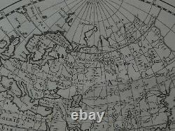 1703 Peter Heylyn Atlas Carte Du Monde Une Nouvelle Carte Du Monde
