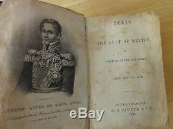 1845 Texas Et Le Golfe Du Mexique Ou, La Plaisance Dans Le Nouveau Monde, 1re Édition